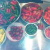 Some hot peppers we use